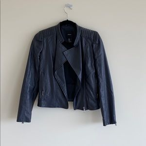 faux leather jacket from Forever 21!